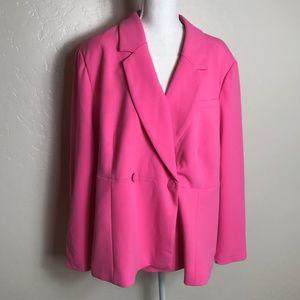 Rebel Wilson Pink Blazer 2X